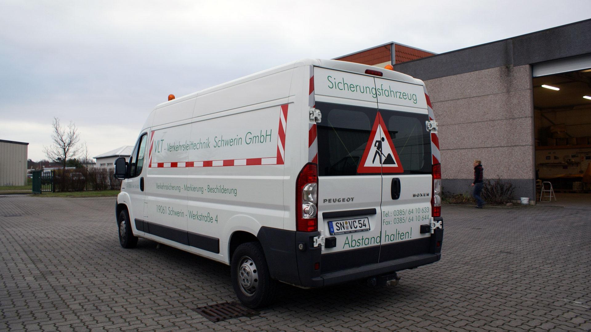 Autofolierung Transporter folieren Schwerin