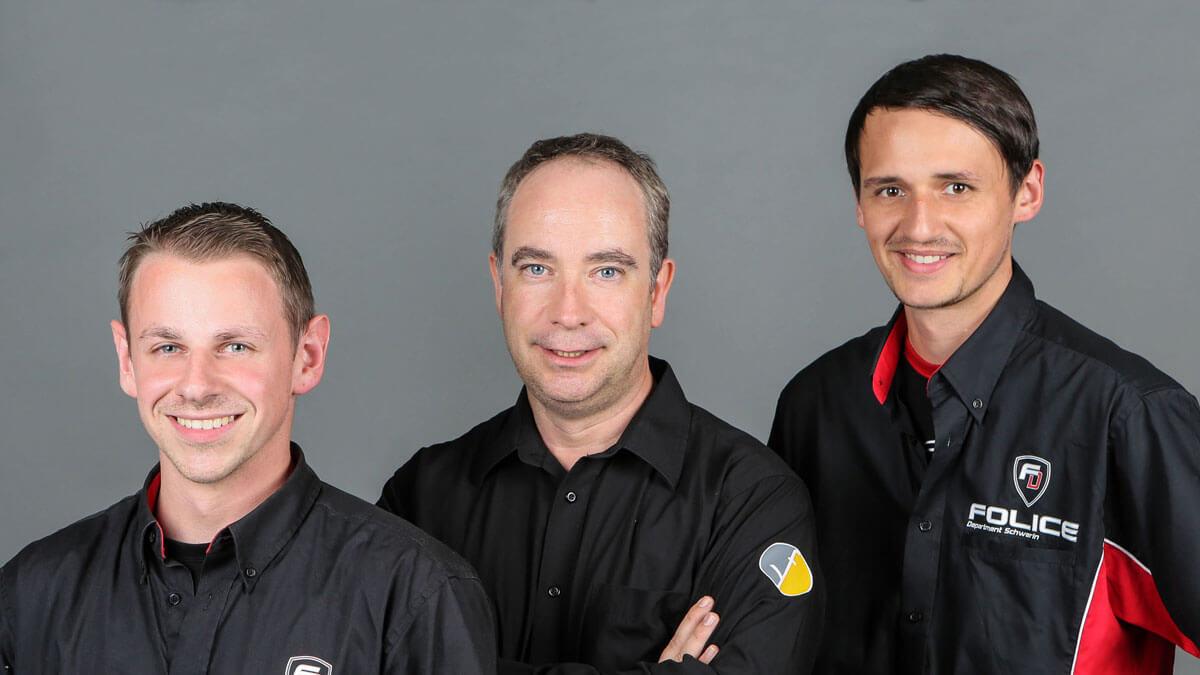 Team der Werbeagentur Schwerin